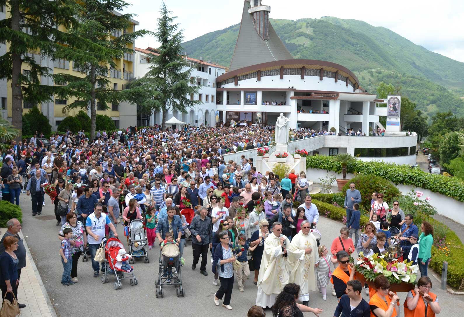 Caposele pronta per la prima festa di San Gerardo