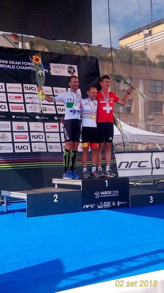 Cava de' Tirreni: il ciclista Borrelli secondo al campionato UCI
