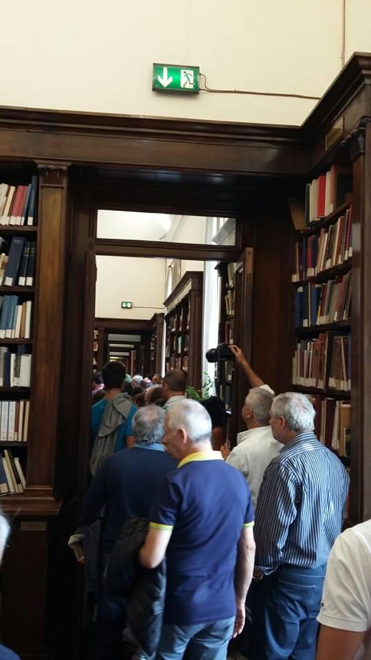 La Biblioteca Palatina di Palazzo Reale aperta al pubblico