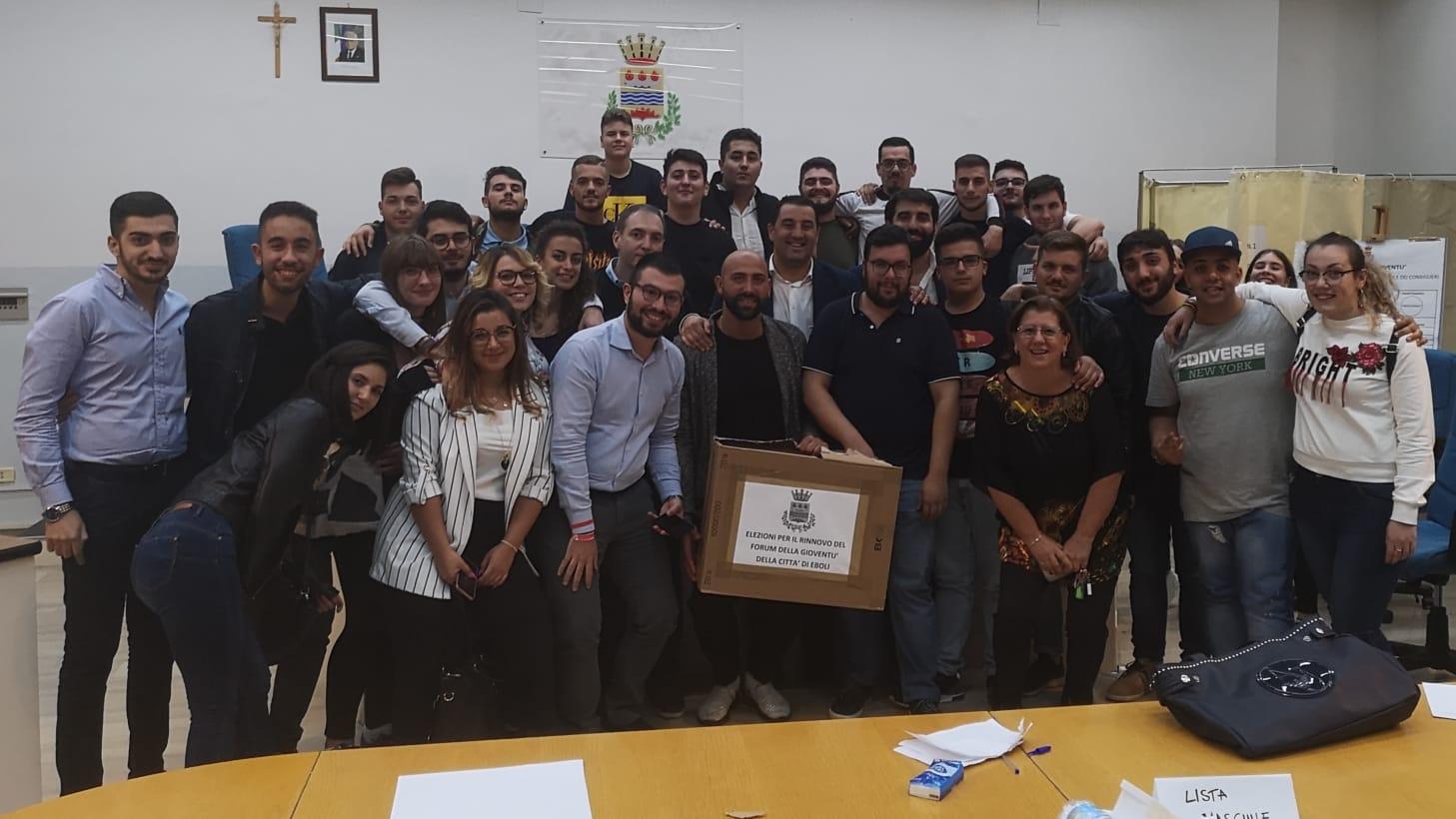 Eboli: Il nuovo coordinatore del Forum dei Giovani è Francesco Squillante