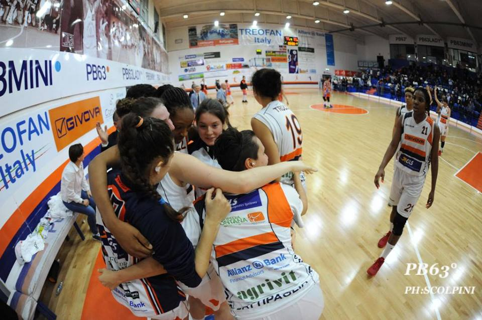 La Treofan Givova Battipaglia trionfa a Campobasso