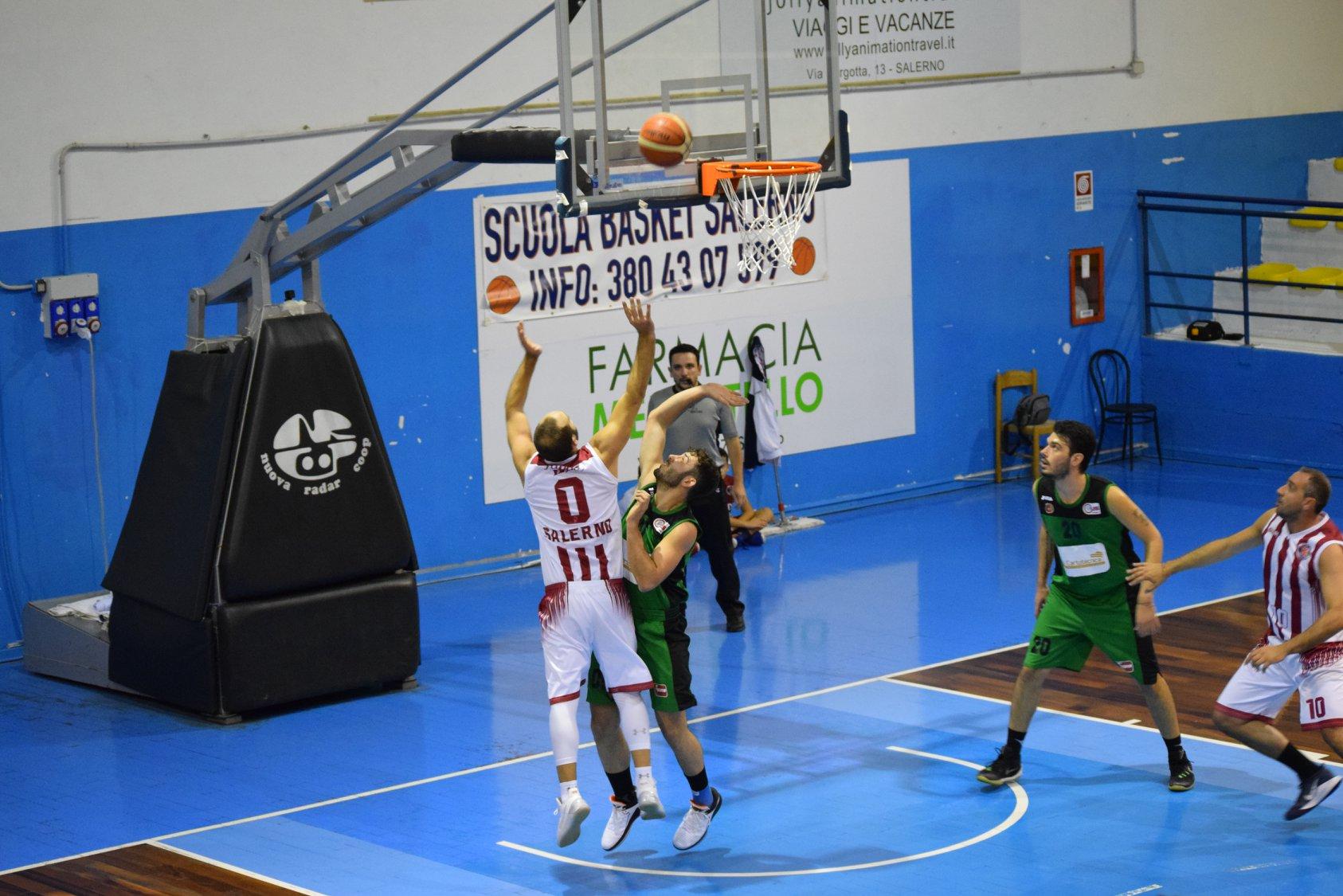 L'Hippo Basket battuta sul finale dal Cus Potenza