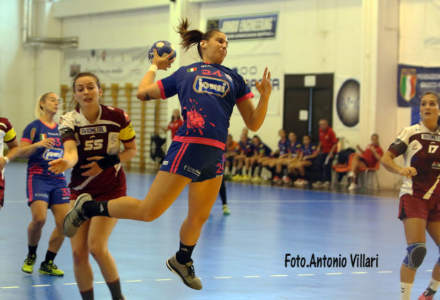 La Jomi Salerno prima in classifica
