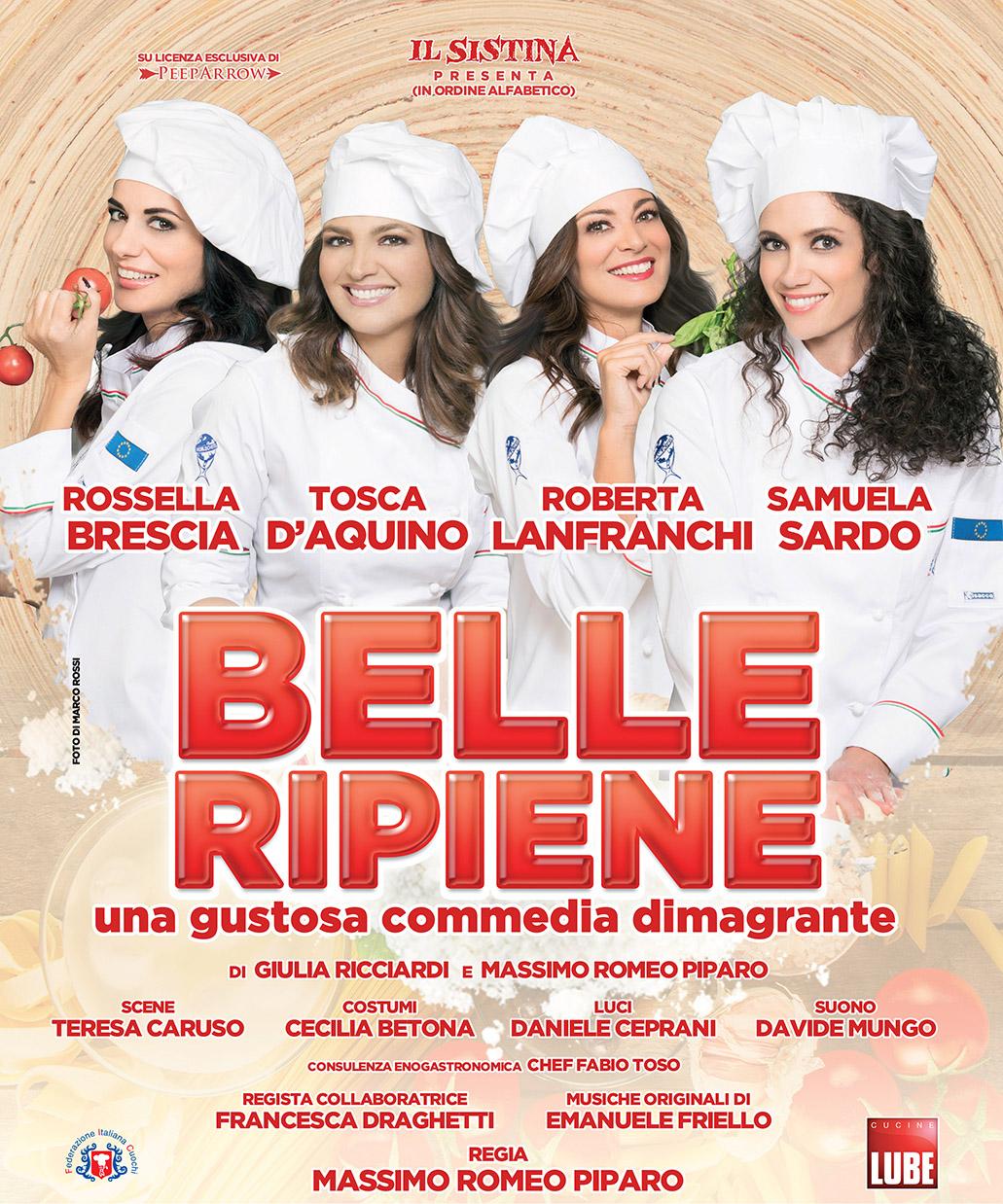 """All'Augusteo di Napoli """"Belle Ripiene – Una gustosa commedia dimagrante"""""""