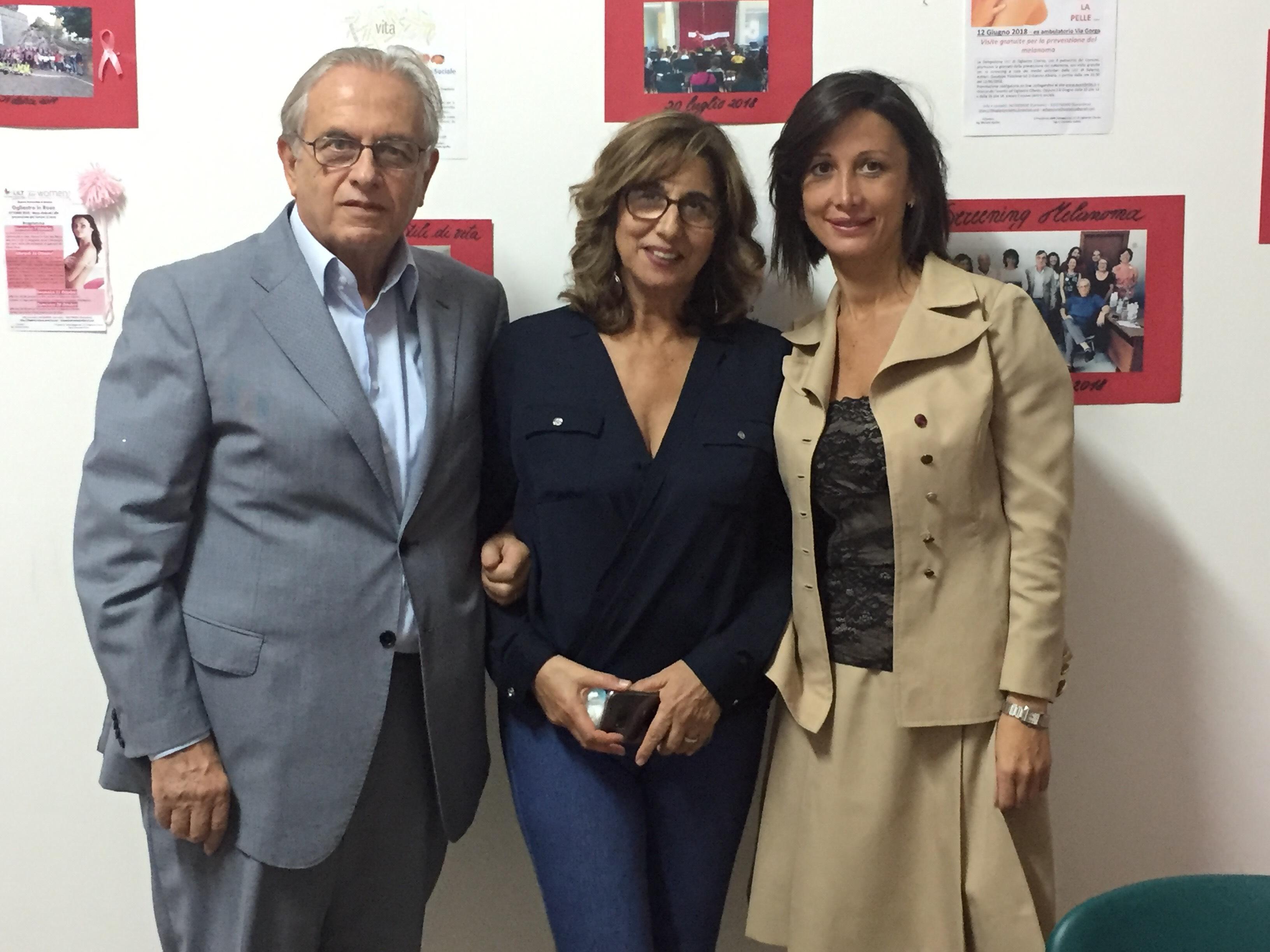 "Nominata ambasciatrice ""Lilt"" Mariangela Mandia"