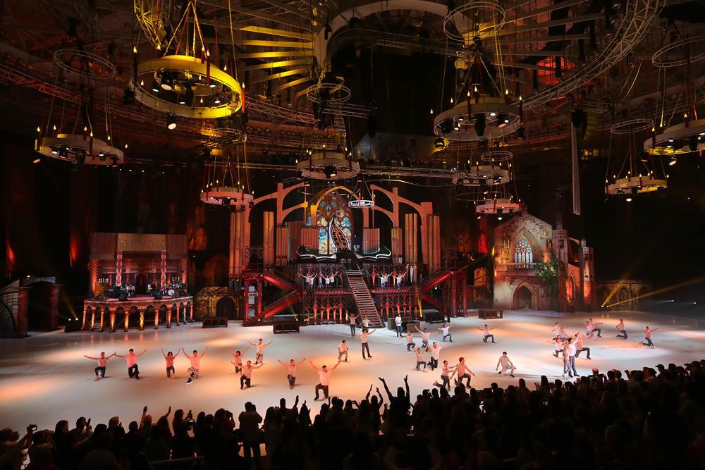 """Il Mega Show russo """"Romeo & Juliet sul ghiaccio"""" adattato dalla """"Bit & Sound Music"""" di Salerno"""
