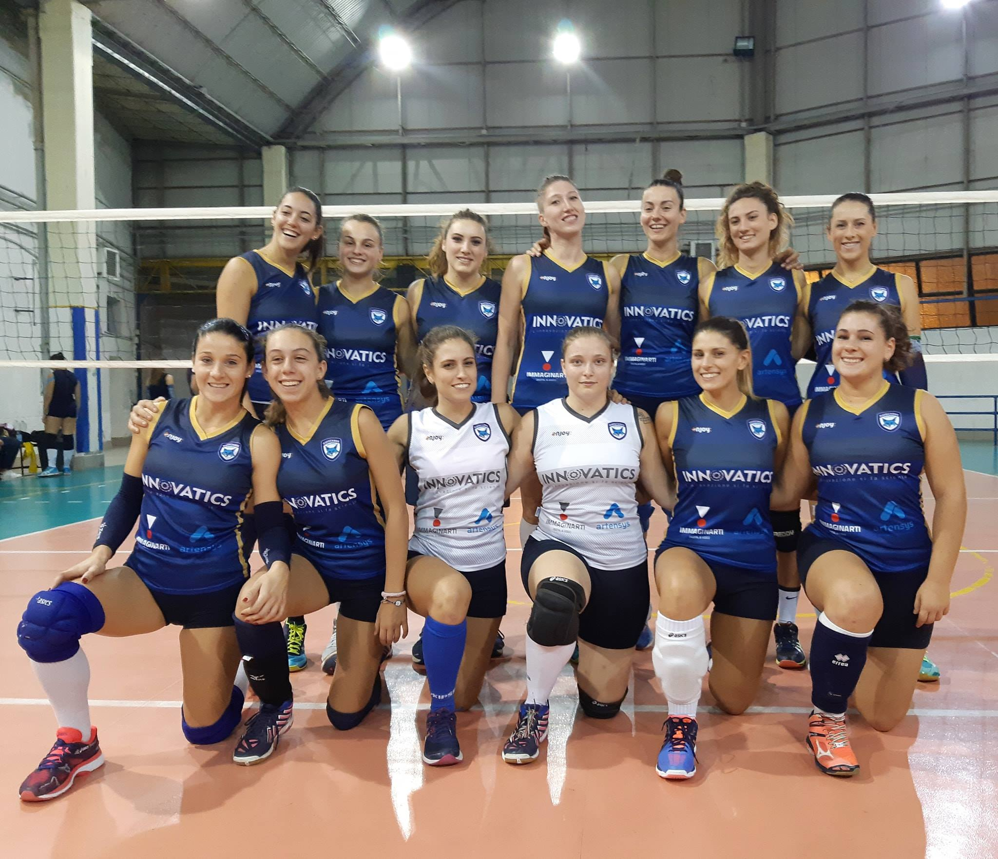 Volley femminile: al via il campionato per la Salerno Guiscard