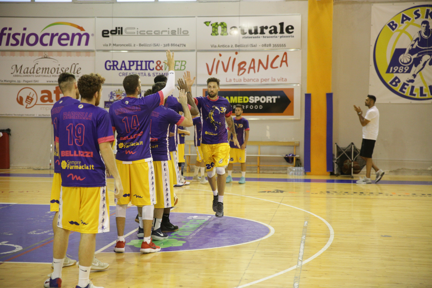 Terza vittoria consecutiva per il Basket Bellizzi
