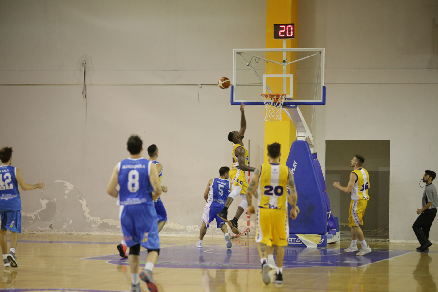 La Pallacanestro San Michele Maddaloni ospite del Basket Bellizzi