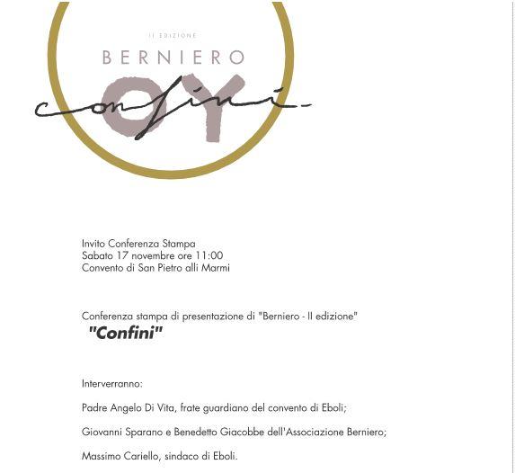 """Ilconvento dei frati cappuccini ospita il festival """"Berniero"""""""