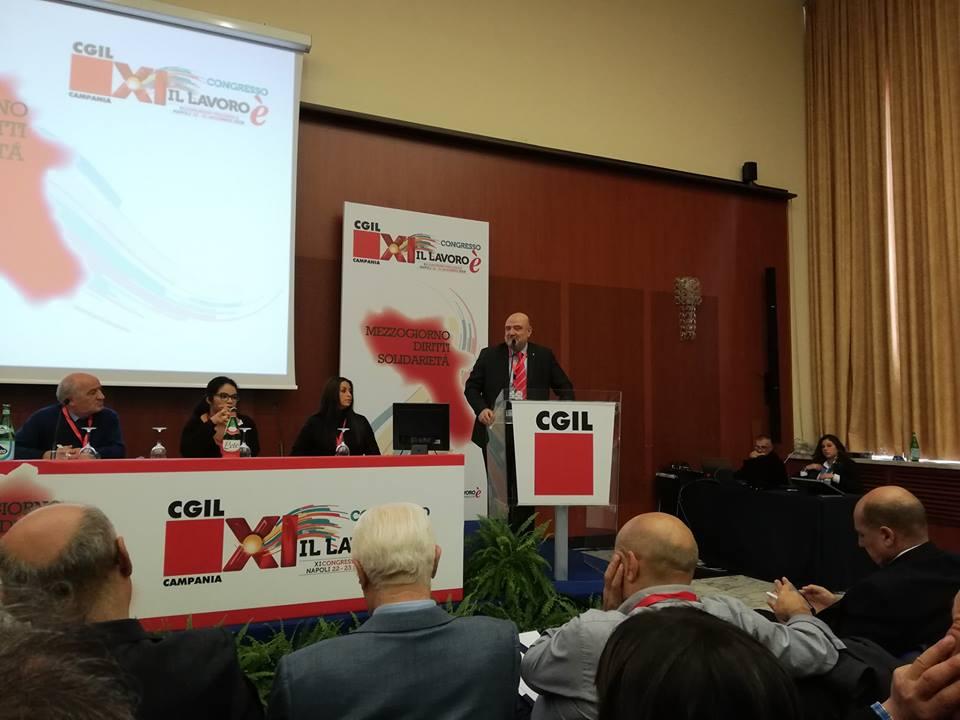 """Cgil Campania: """"Subito un piano straordinario per il lavoro"""""""