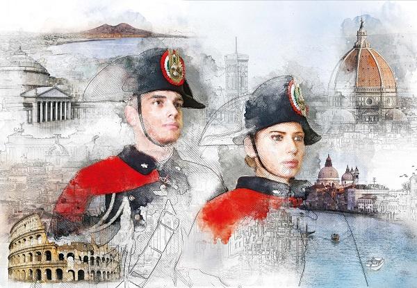 Carabinieri Napoli, presentato il Calendario Storico 2019