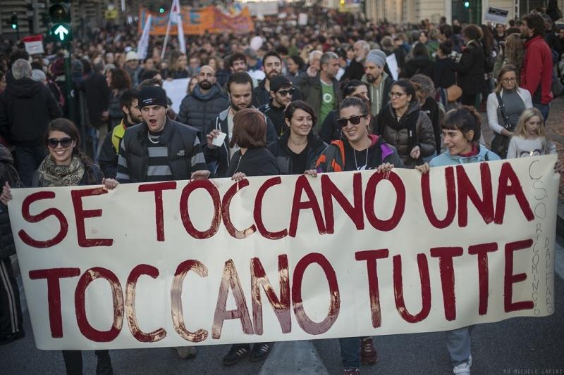10 novembre: donne in piazza in difesa dei diritti, per una nuova lotta di liberazione