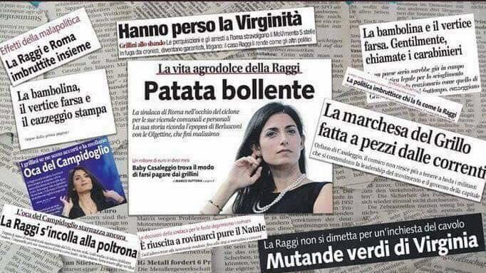 """Giornalismo, Di Maio: """"Sindaca Raggi trattata come Al Capone"""""""