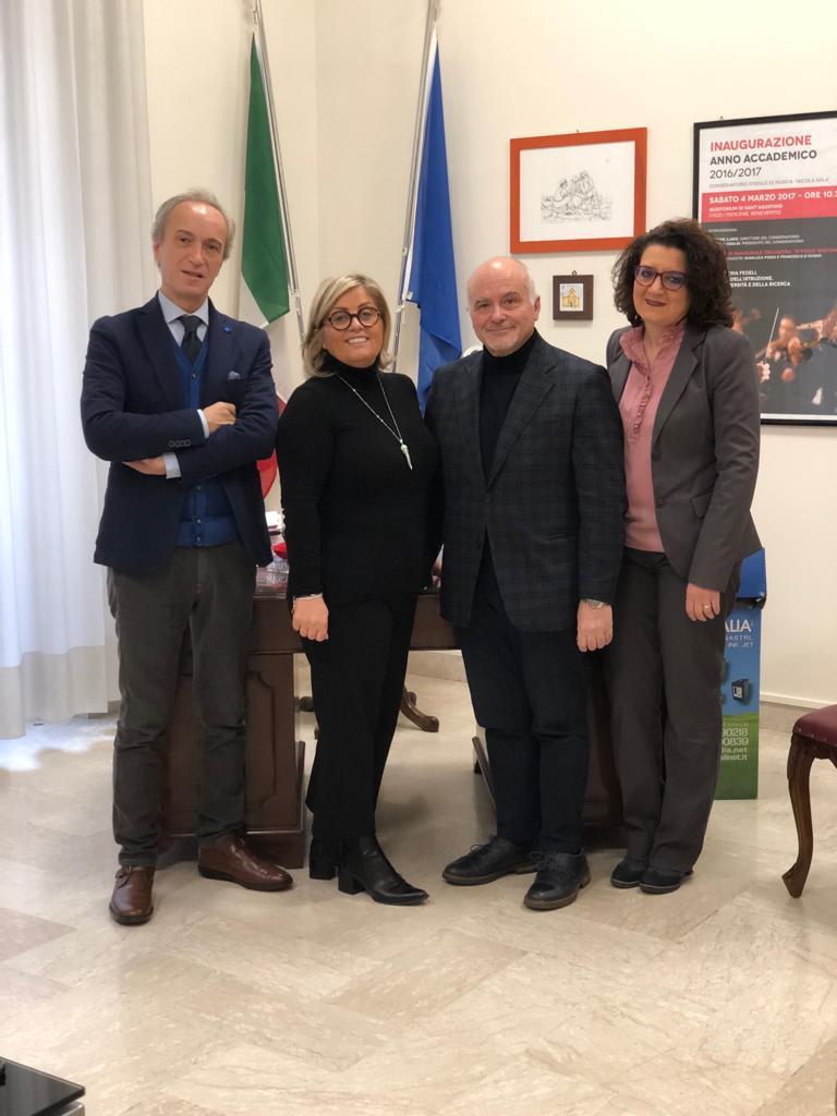 Benevento: nuova amministrazione al Conservatorio