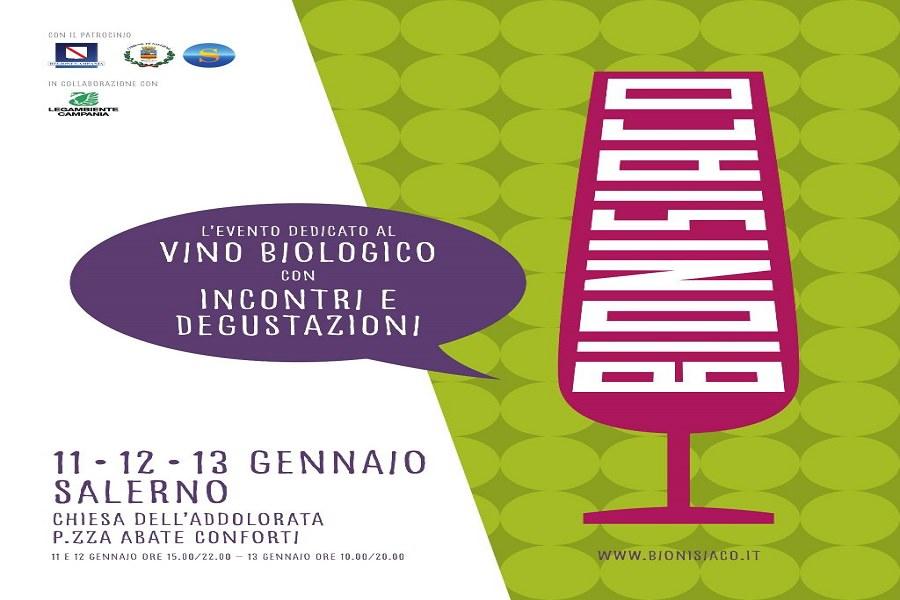 Salerno ospita il salone del vino biologico