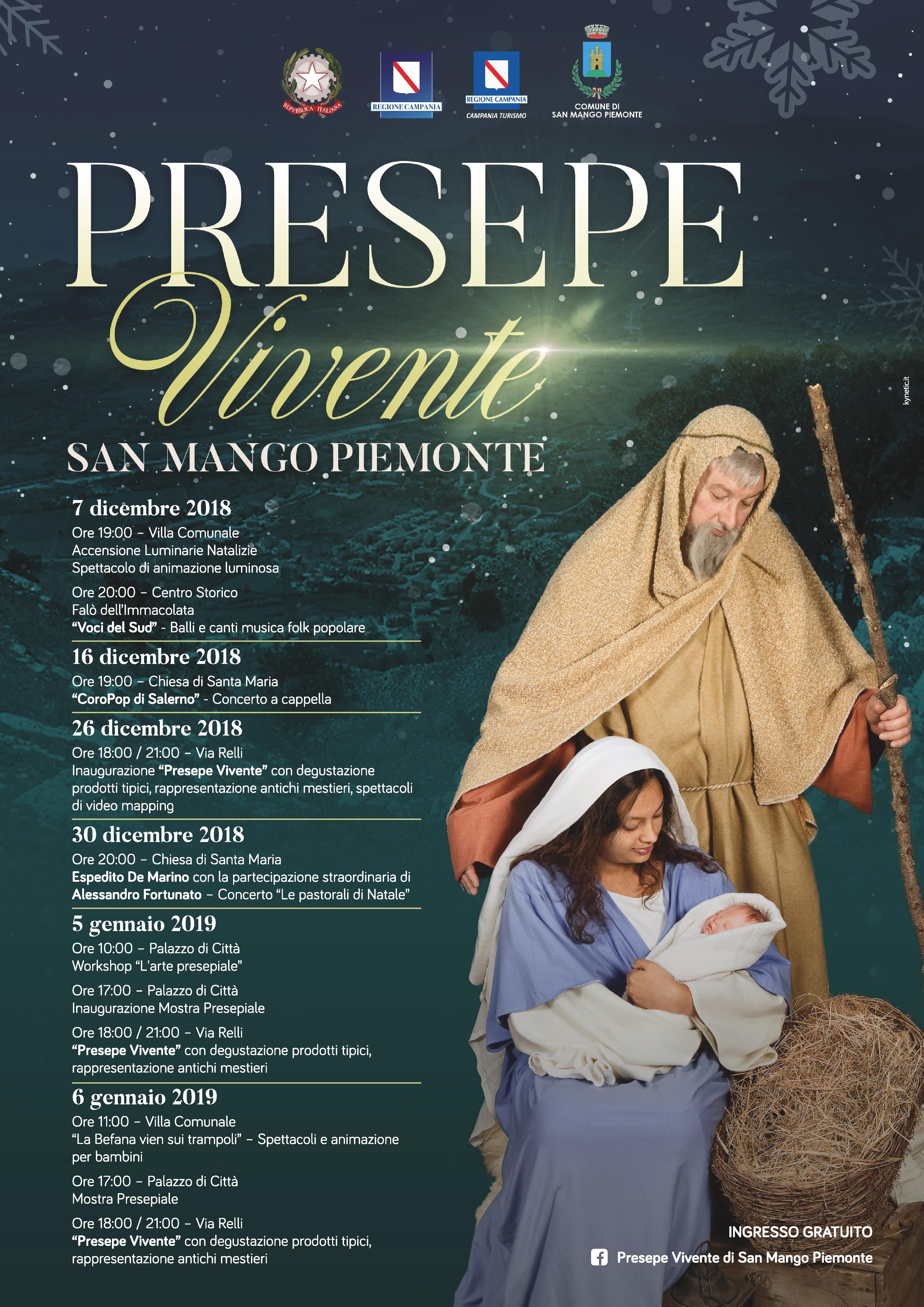 San Mango Piemonte e il Presepe Vivente