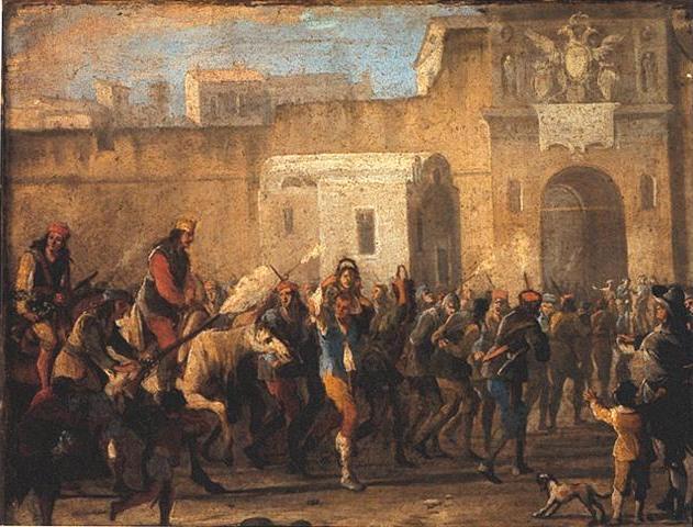 Tour attraverso i luoghi della rivolta di Masaniello