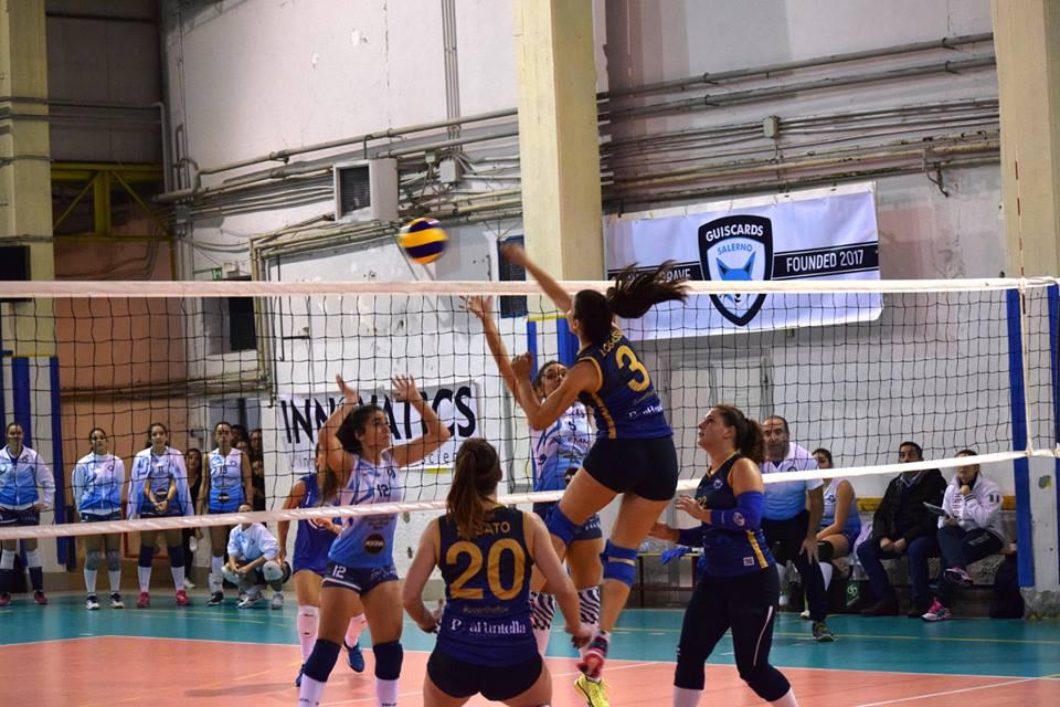 Salerno Guiscards:il team volley a caccia di riscatto