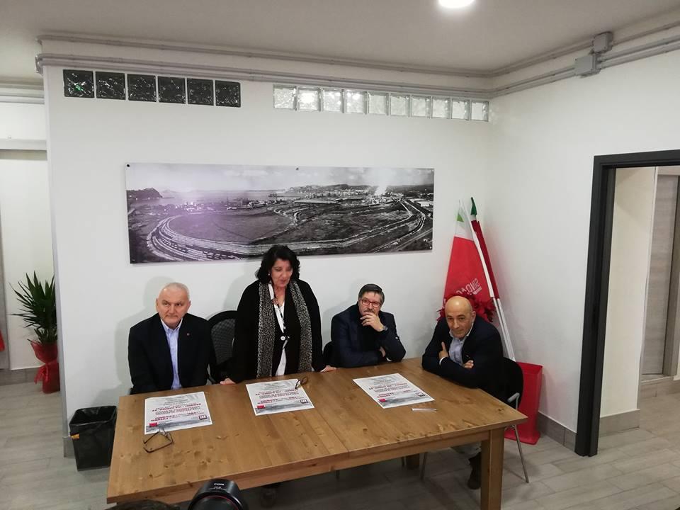Bagnoli, Napoli: apre una nuova sede Cgil e nasce la corrente di Colla