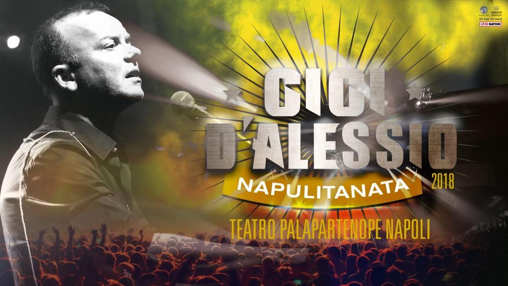 Al Palapartenope si canta con Gigi D'Alessio