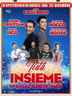 """Al Teatro Bracco """"Special Christmas"""" con Gigi e Ross"""