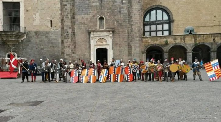 Al Maschio Angioino rievocazione storica medievale