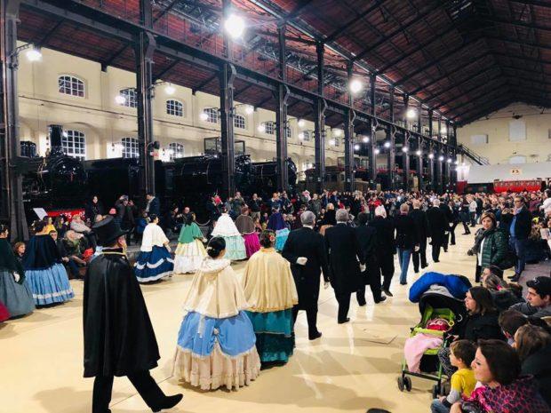 Portici, Museo Pietrarsa: Atmosfera magica dei mercatini natalizi sul Golfo di Napoli