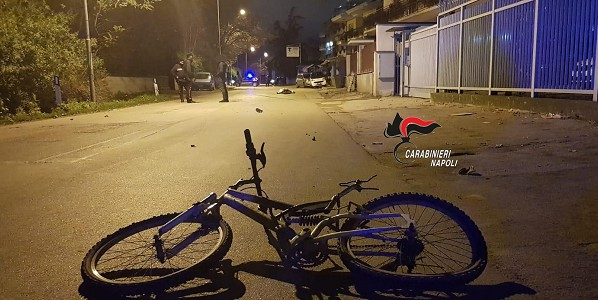 Caivano, muore ciclista investito: caccia al pirata