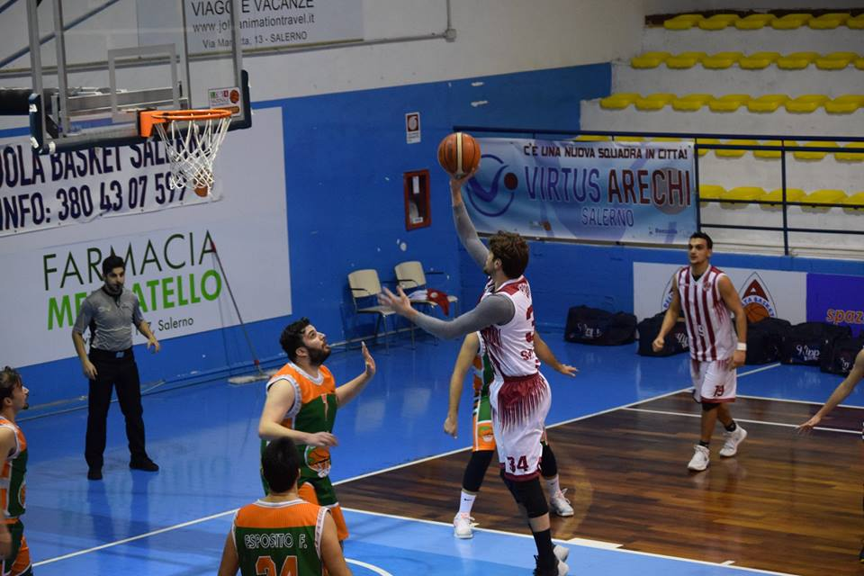 Il Secondigliano si impone sulla Hippo Basket Salerno