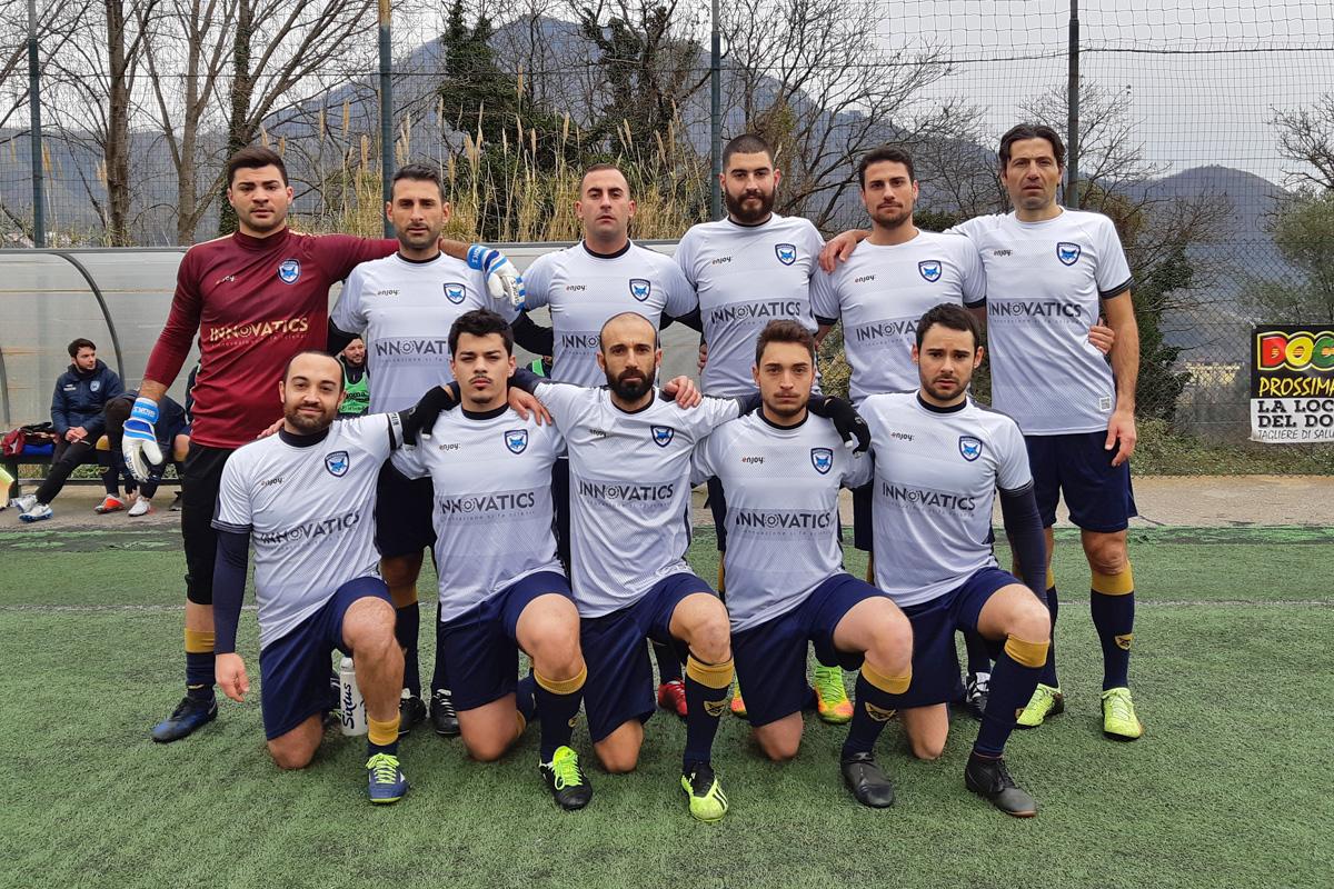 Sconfitta beffa per il team calcio Guiscards contro l'Arechi