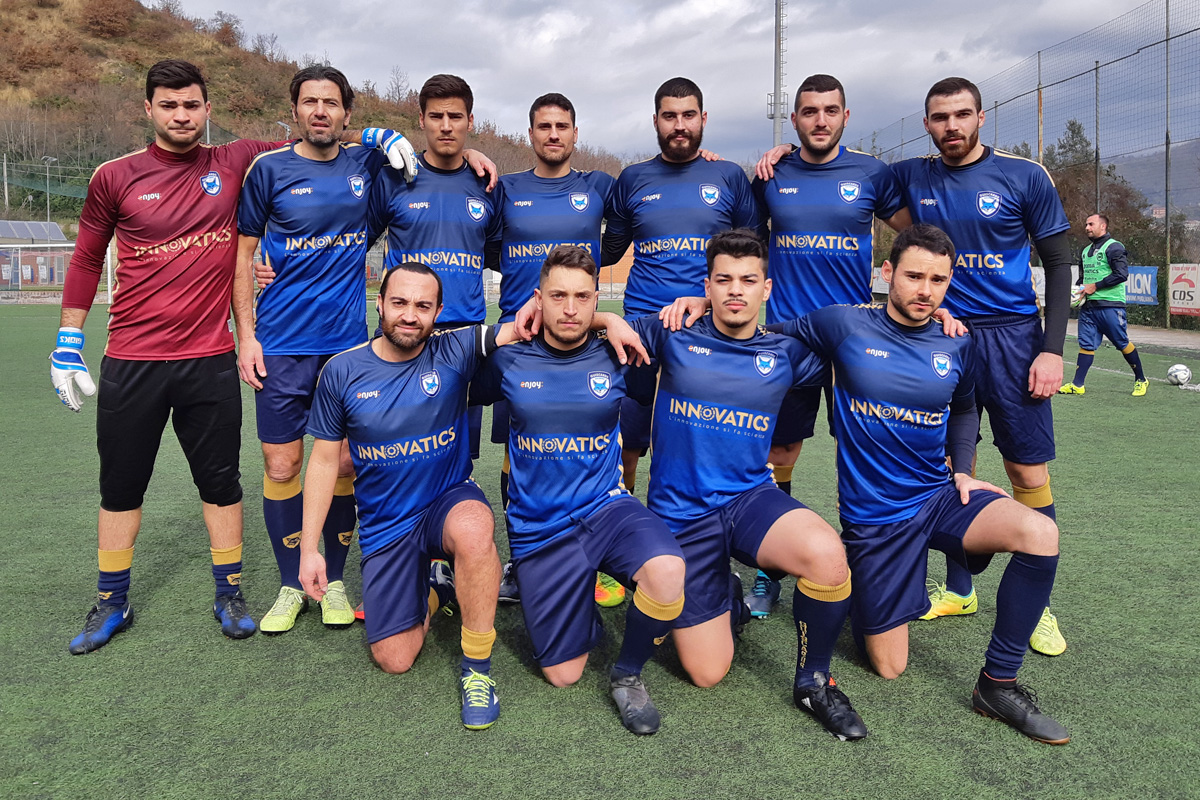 Ritorna alla vittoria il team calcio della Salerno Guiscards