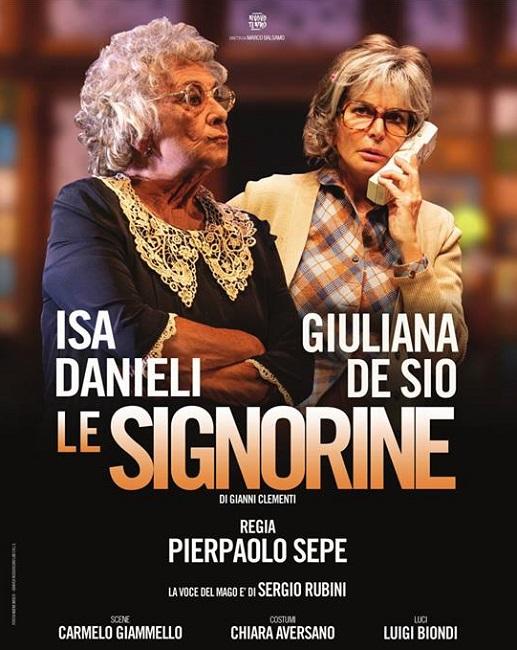 Eboli: al Teatro Italia di scena Isa Danieli e Giuliana De Sio