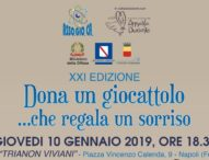 """A Napoli """"Dona un giocattolo"""", ultimi giorni di raccolta per l'iniziativa benefica"""