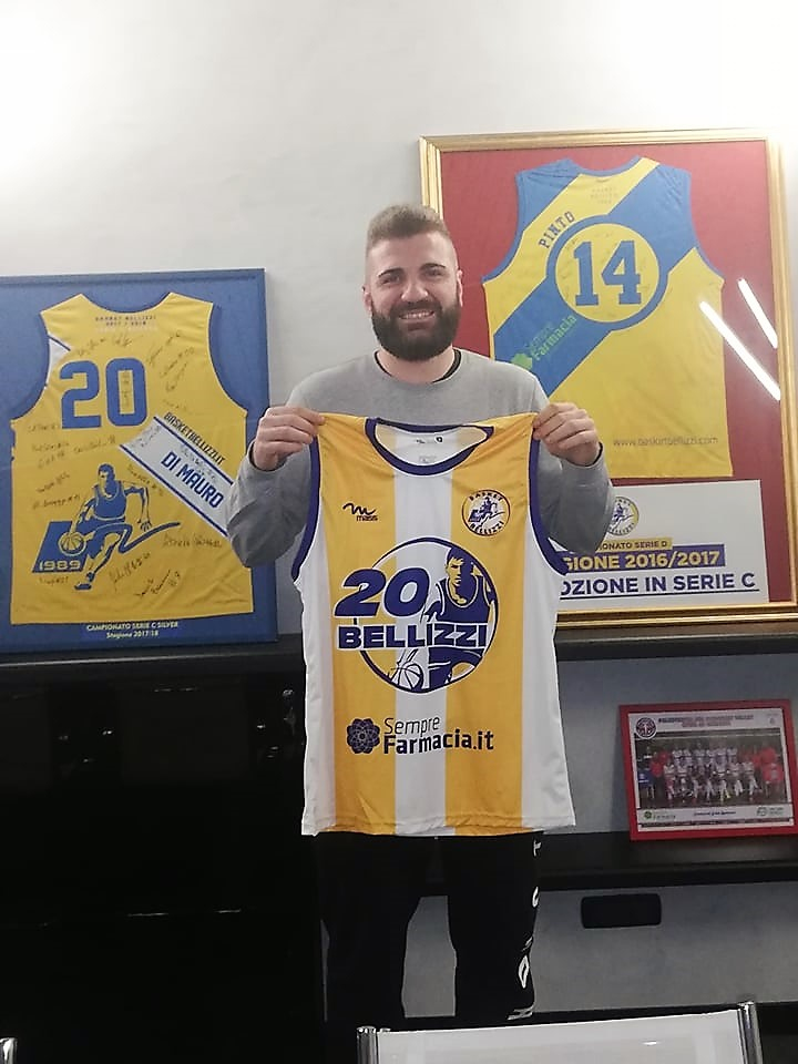 Basket Bellizzi: ingaggiato Aldo Filippi