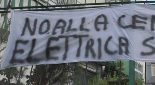 Fuorigrotta, La Loggetta: la centrale elettrica non si farà vicino alle case