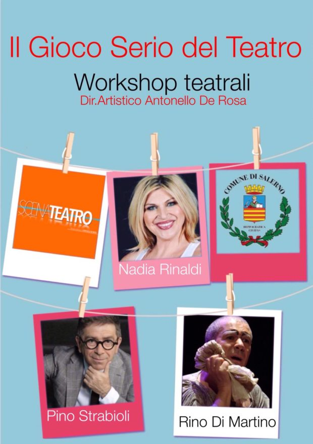 Workshop teatrali gratuiti a Salerno