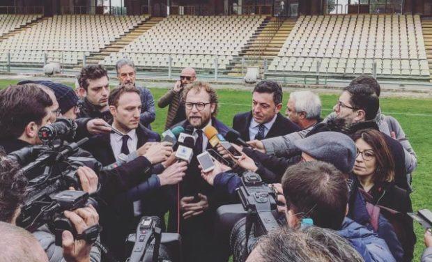 """Universiadi, visita agli impianti: spunta il """"nostalgico"""" Lotti"""