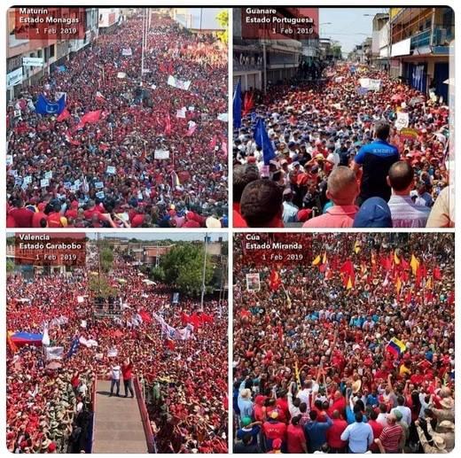 Venezuela, raccontano balle per favorire l'invasione armata degli Stati Uniti
