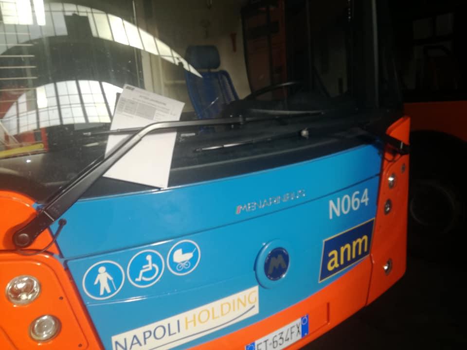 Napoli, Anm punisce 46 autisti. Avevano segnalato colonie di blatte sui bus