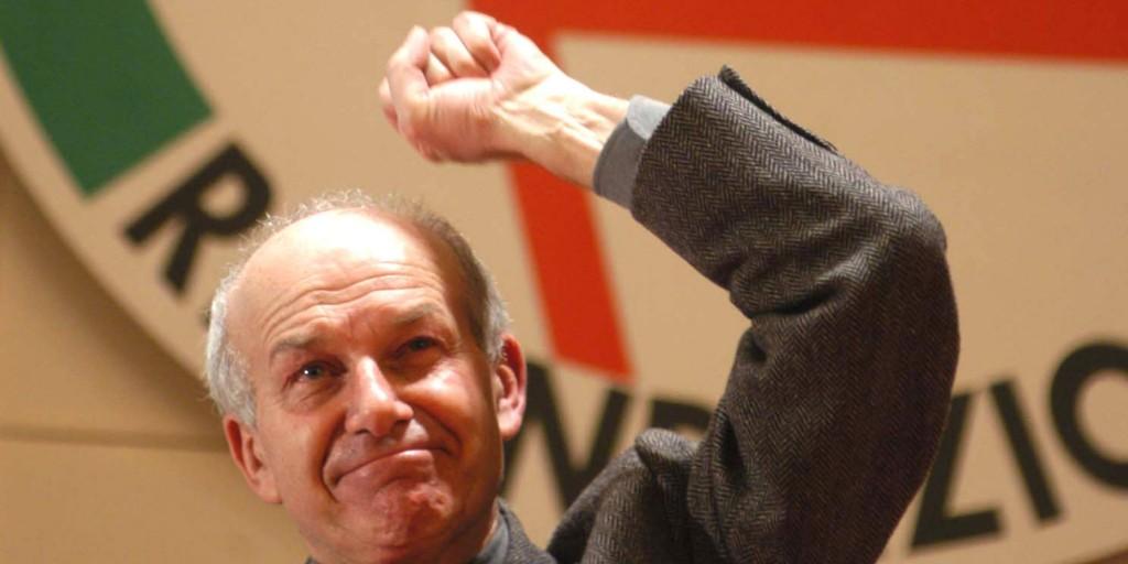 """Bertinotti attacca il Pd: """"amate  le poltrone e il governismo, siete lontani dal popolo"""""""