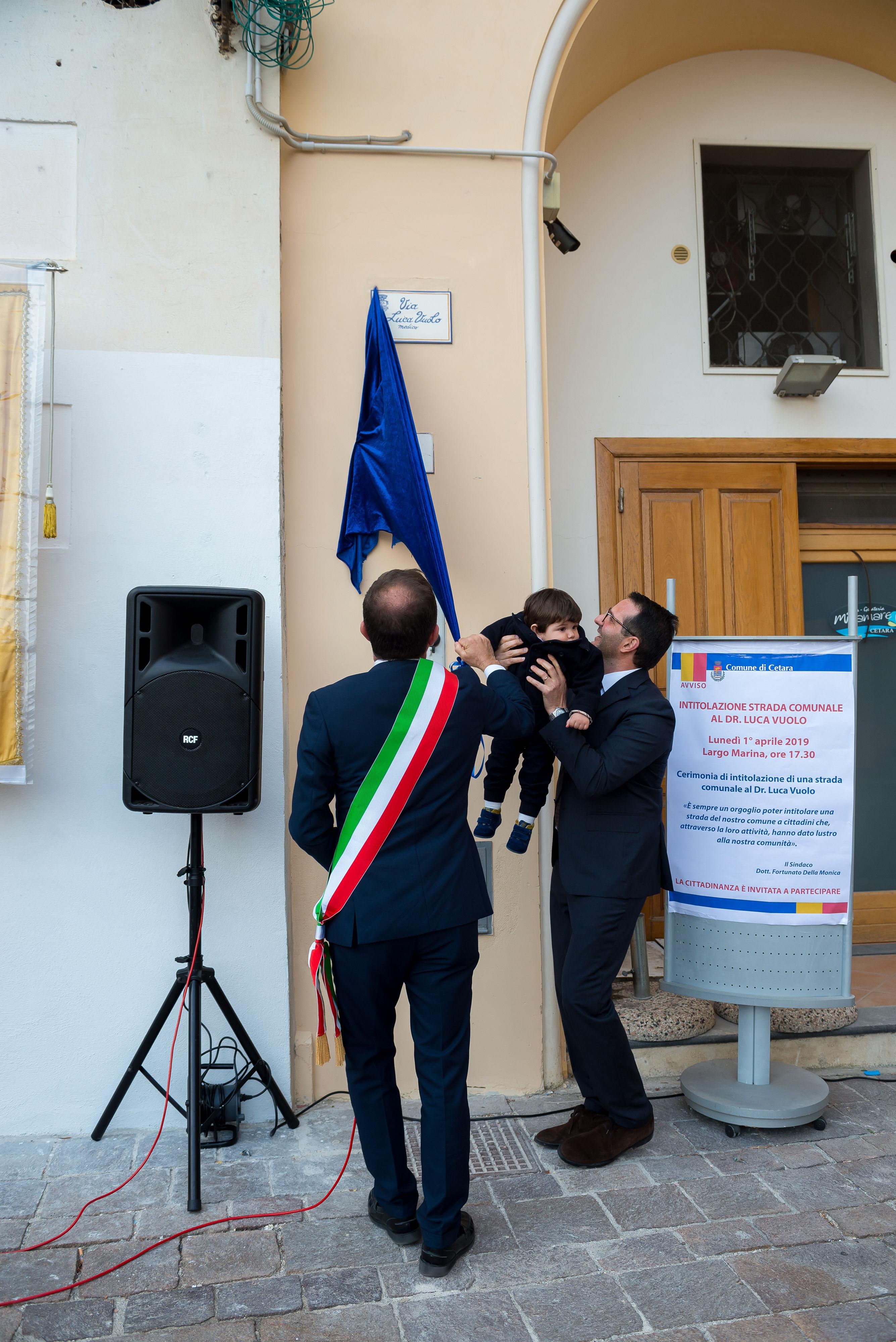 Cetara: una strada dedicata al dottor Luca Vuolo