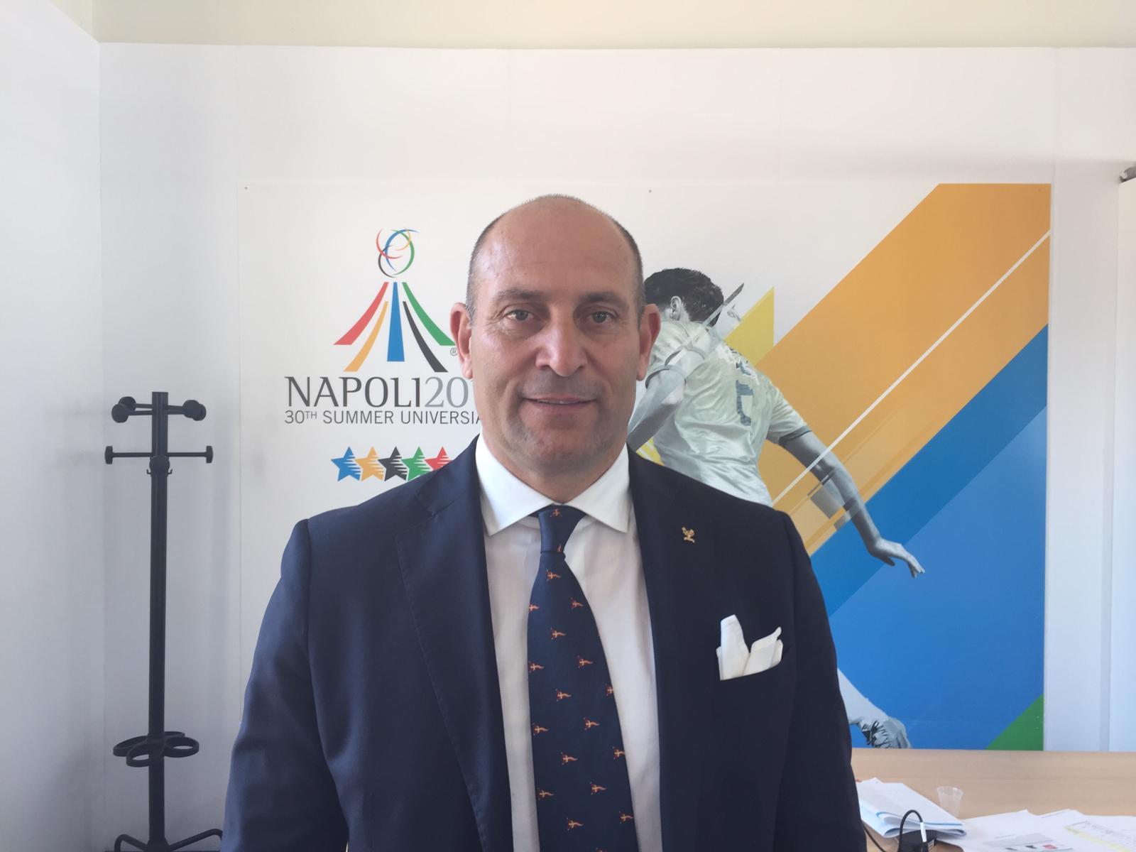 Lo sport operation manager delle Universiadi sarà Davide Tizzano