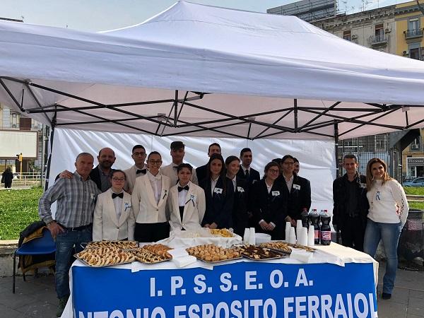 Giornata Mondiale Autismo, a Napoli studenti del Ferraioli in piazza