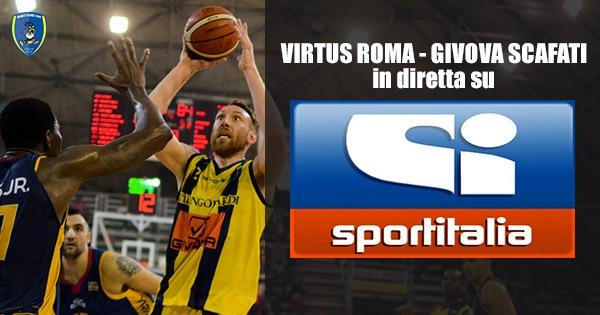 Posticipata la gara tra la Virtus Roma e la Givova Scafati
