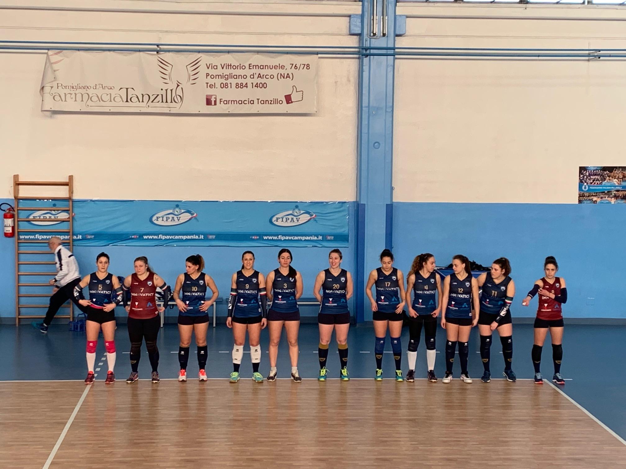 Volley. La Salerno Guiscards espugna Pomigliano