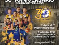 Grande festa per i 30 anni il Basket Bellizzi