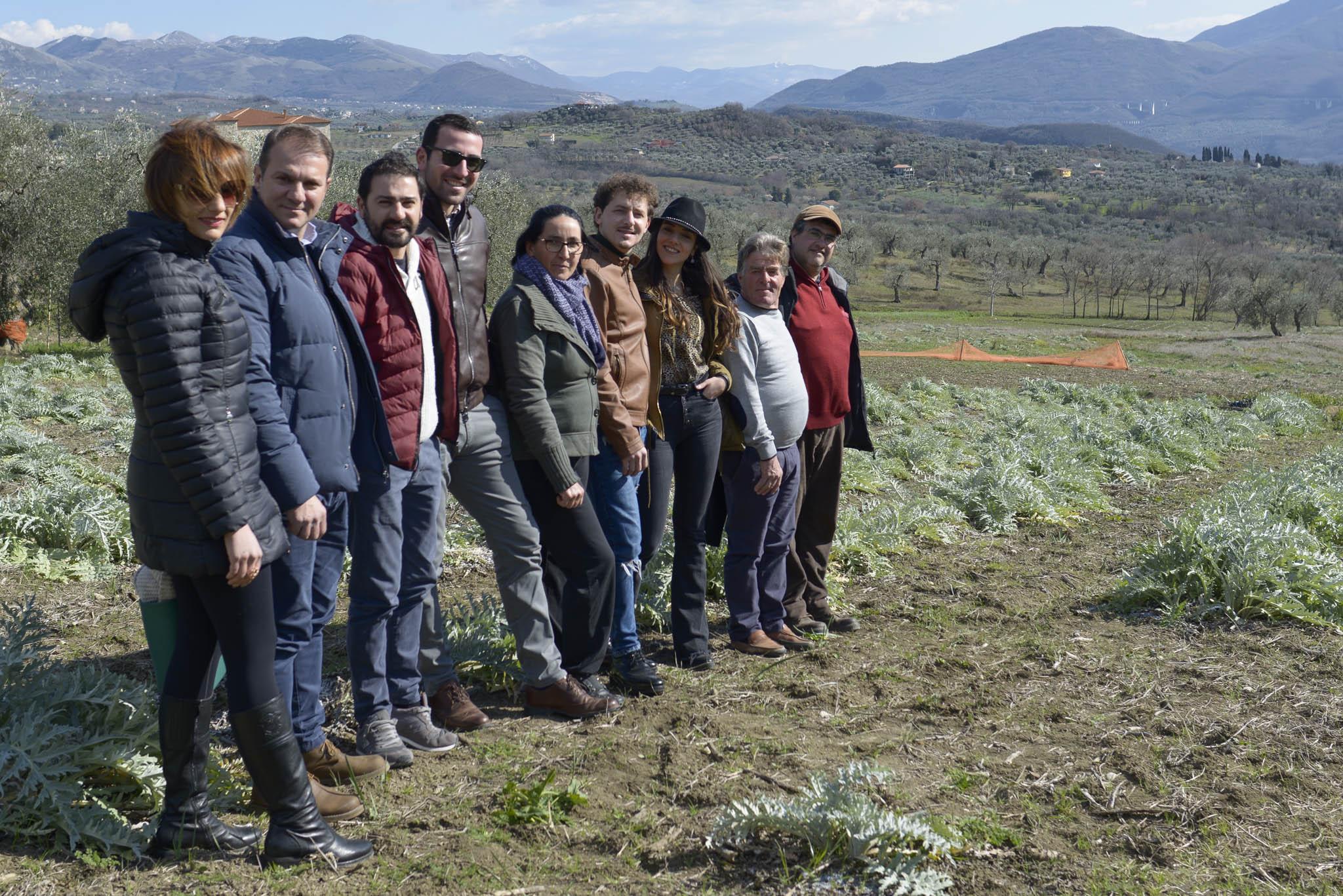 Auletta: I produttori del Carciofo bianco fanno rete per favorire la produzione