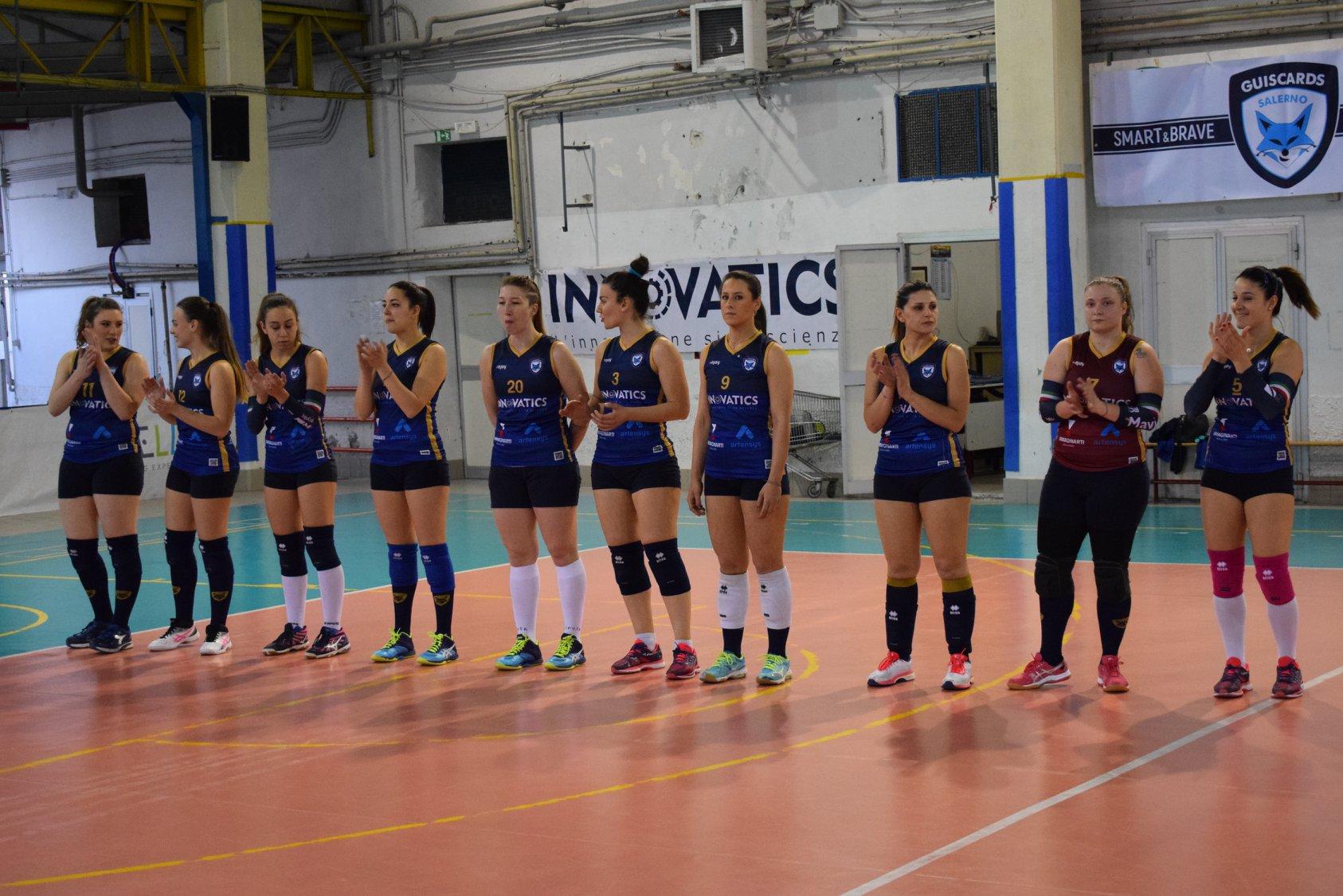 La Salerno Guiscards volley a un passo dai play off