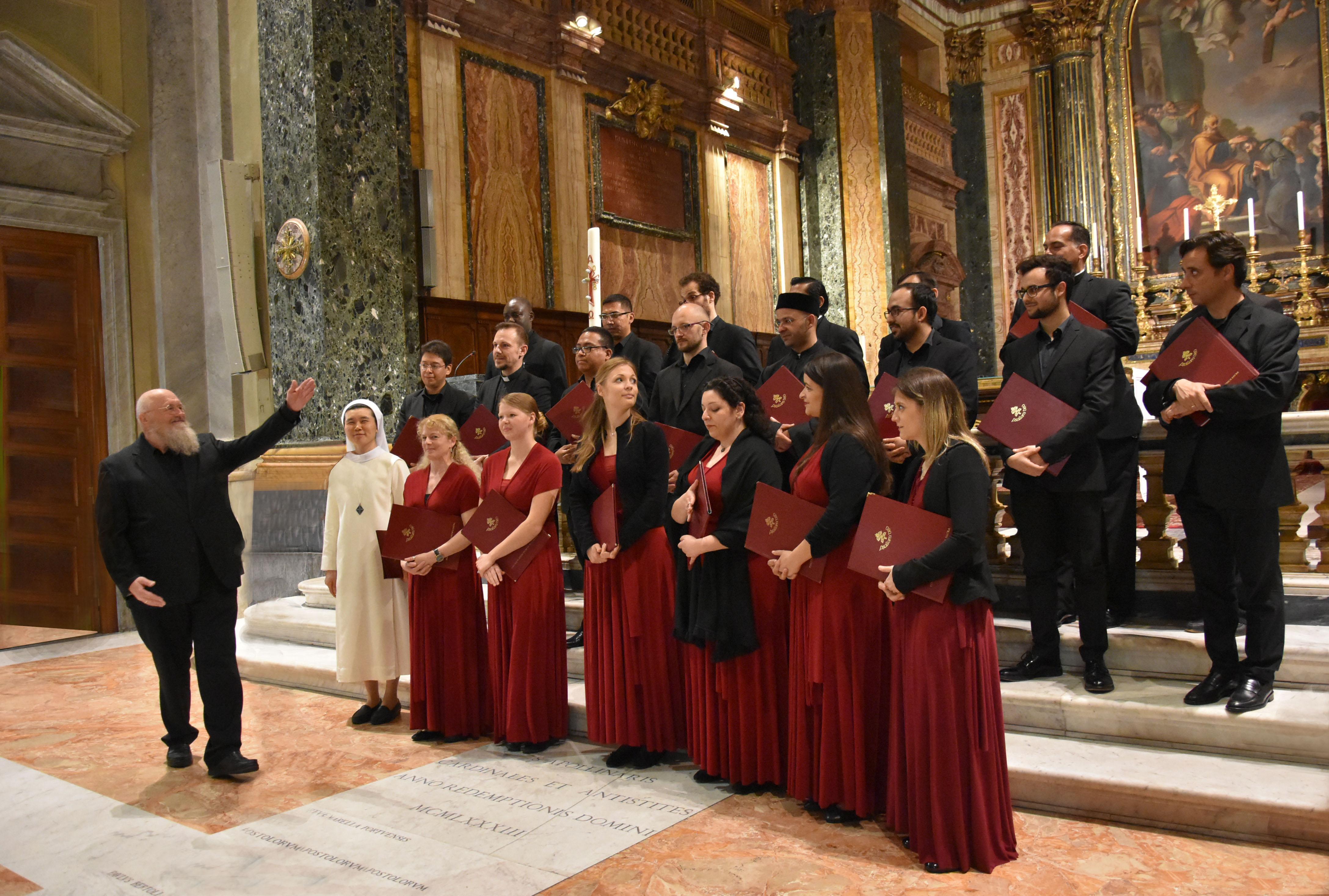 Tutto pronto a Padula per il concerto della Schola Cantorum del Pontificio Istituto